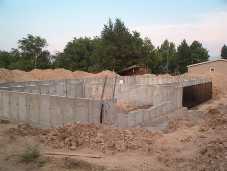 sealing basement  walls