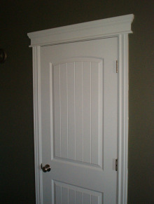 painting inside door