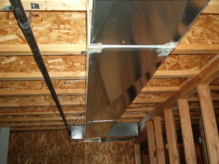 airconditioning system ductwork