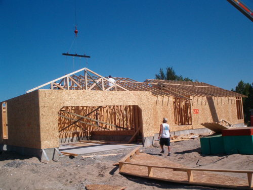 build roof trusses