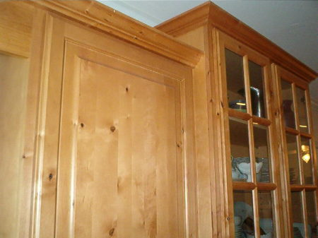 cupboard  crown molding