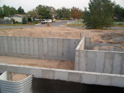 sealing basement foundation